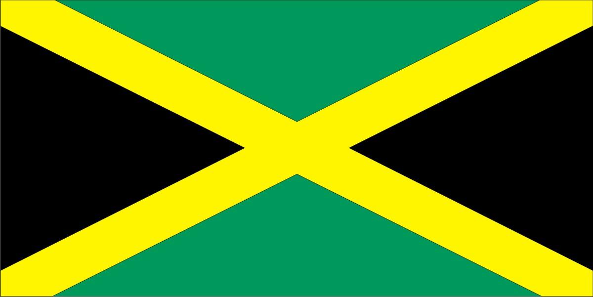 Aalborg Flagfabrik PAPIRFLAG PAPIRFLAG 20X27 JAMAICA